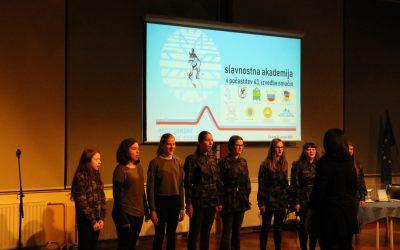 Slavnostna akademija Partizanske smučine Cerkno '45
