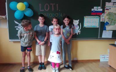 Prvi šolski dan na podružnični šoli v Šebreljah